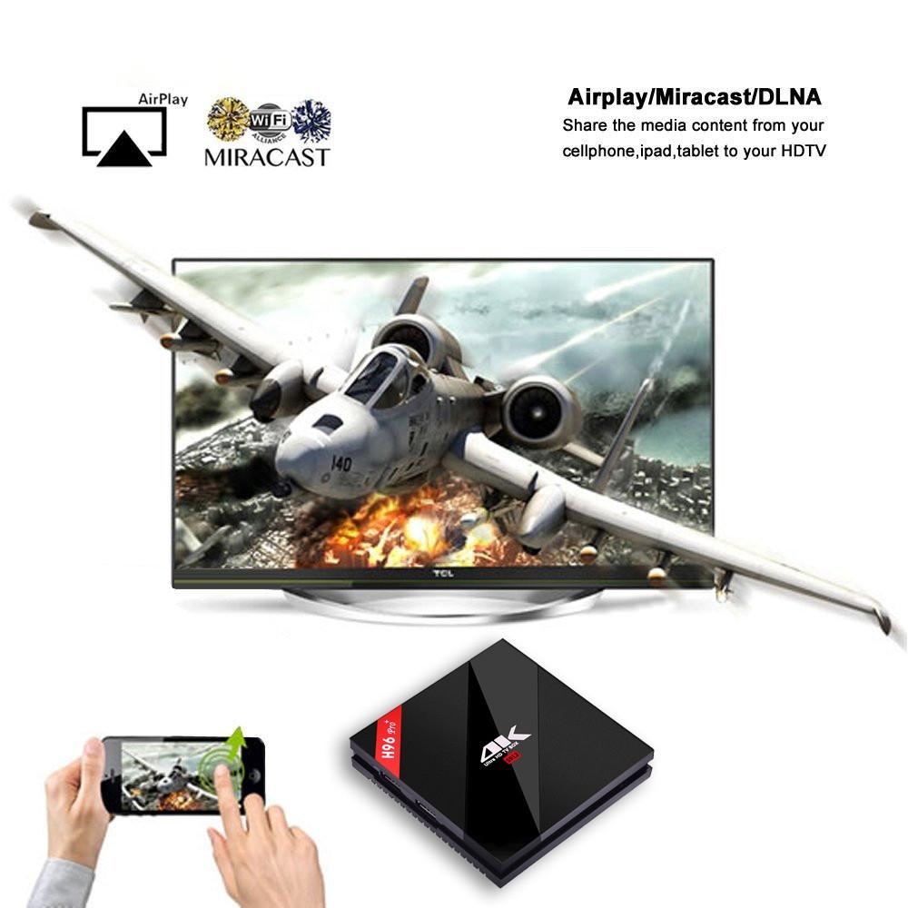 Generic H96 Pro+ TV Box Amlogic S912 Octa Core CPU Android 7.1 OS BT 4.1 2.4GHz5.0GHz WiFi Mini PC  2GB+16GB price in nigeria