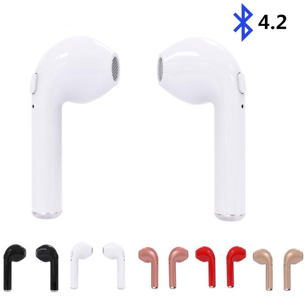 I7-TWS-Twins-vero-V4-2-Auricolari-Mini-Auricolari-Bluetooth-Senza-Fili-Stereo-Sport-musica-Auricolare