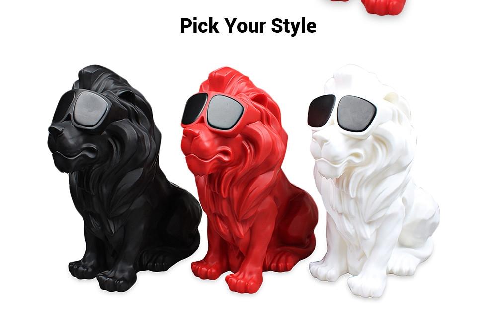 M19 Creative Lion Shape Bluetooth Speaker Portable Wireless Player