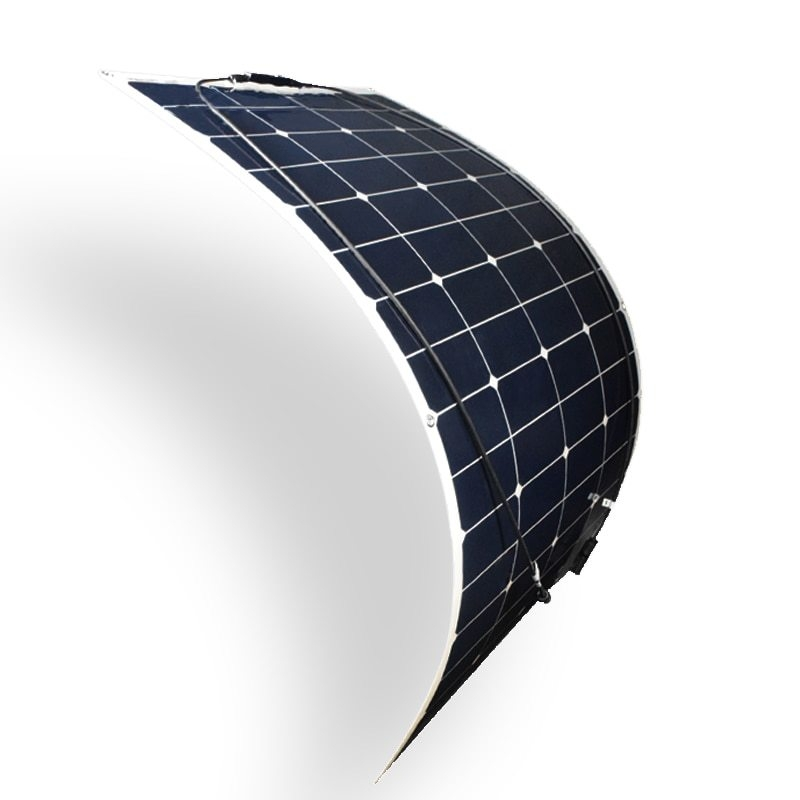 100w 18v efficient flexible solar panel sunpower s...