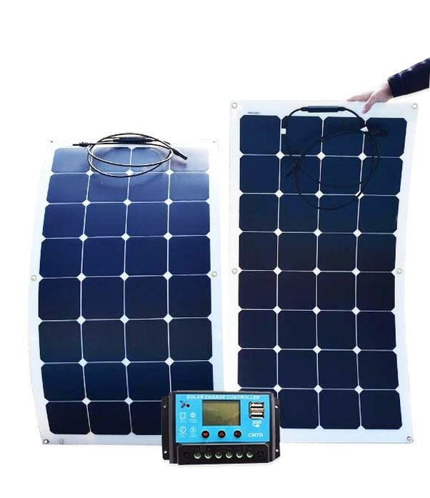 Solar panel monocrystalline 200W foldable flexible...