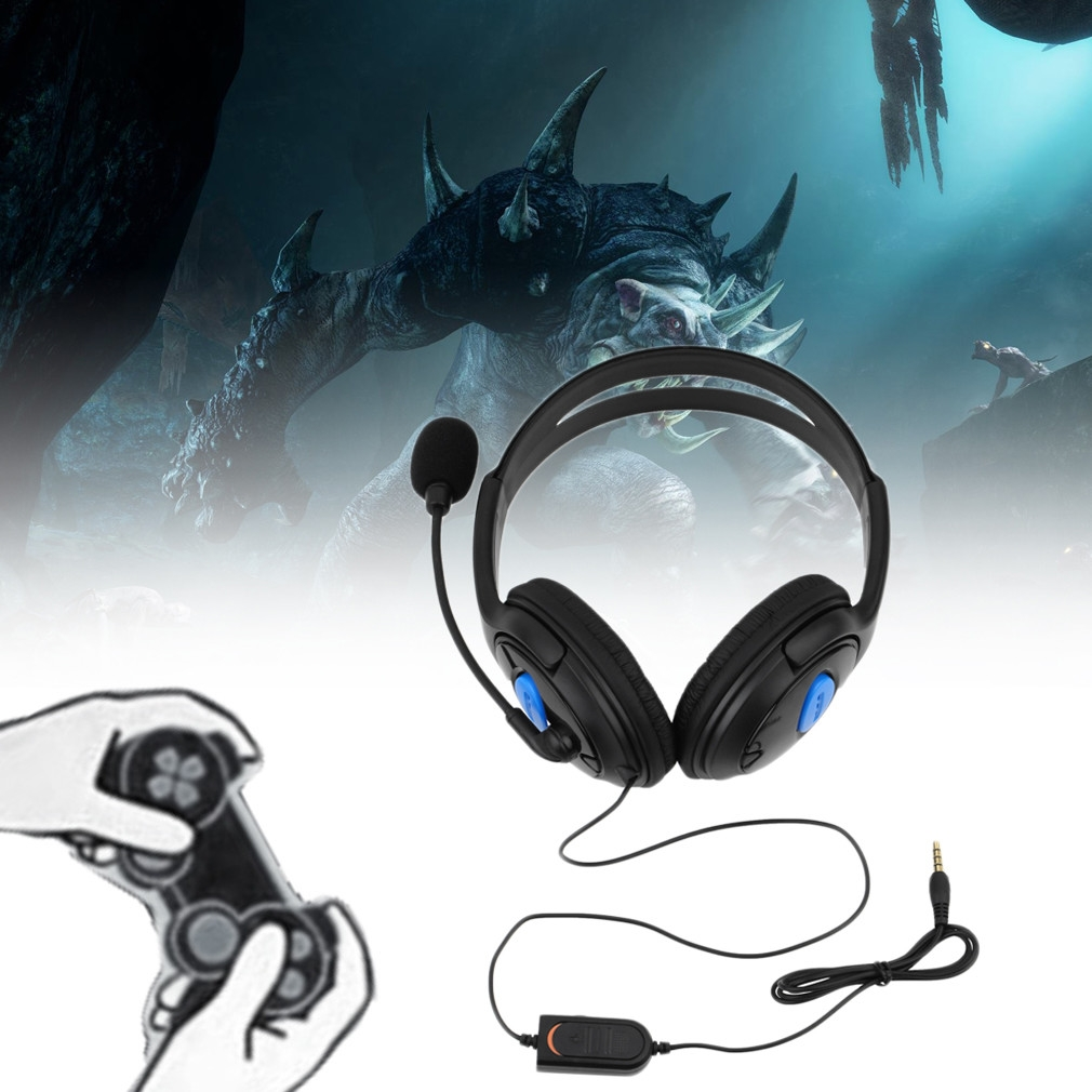 Generic Wired Gaming Headset Headphones With Microphone For Sony PS4 ...