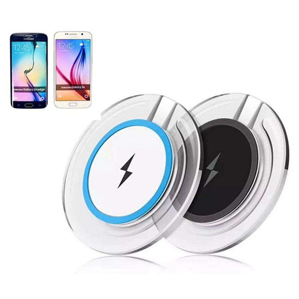 Wireless Charging Charger For iPhone X 8 Samsung Note 8 S8 S7 S6 Edge Mobile Phone Desktop Charger Wireless Charger