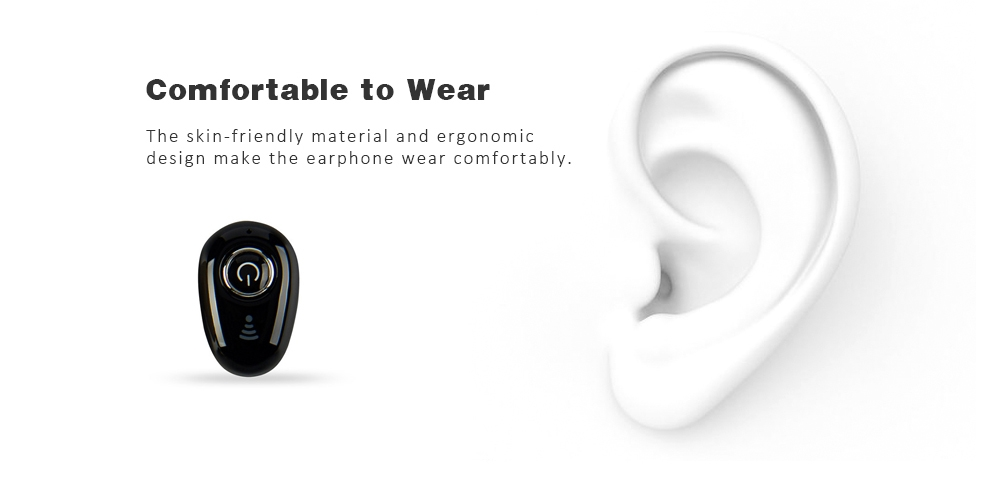 S650 Universal Mini V4.1 Bluetooth Earphones