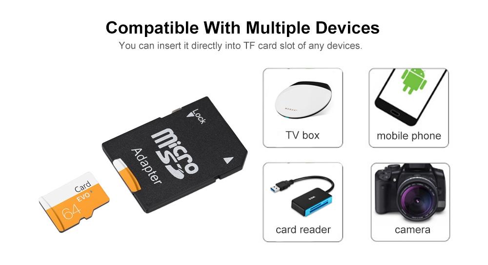 TF / Micro SD Card with Card Sleeve