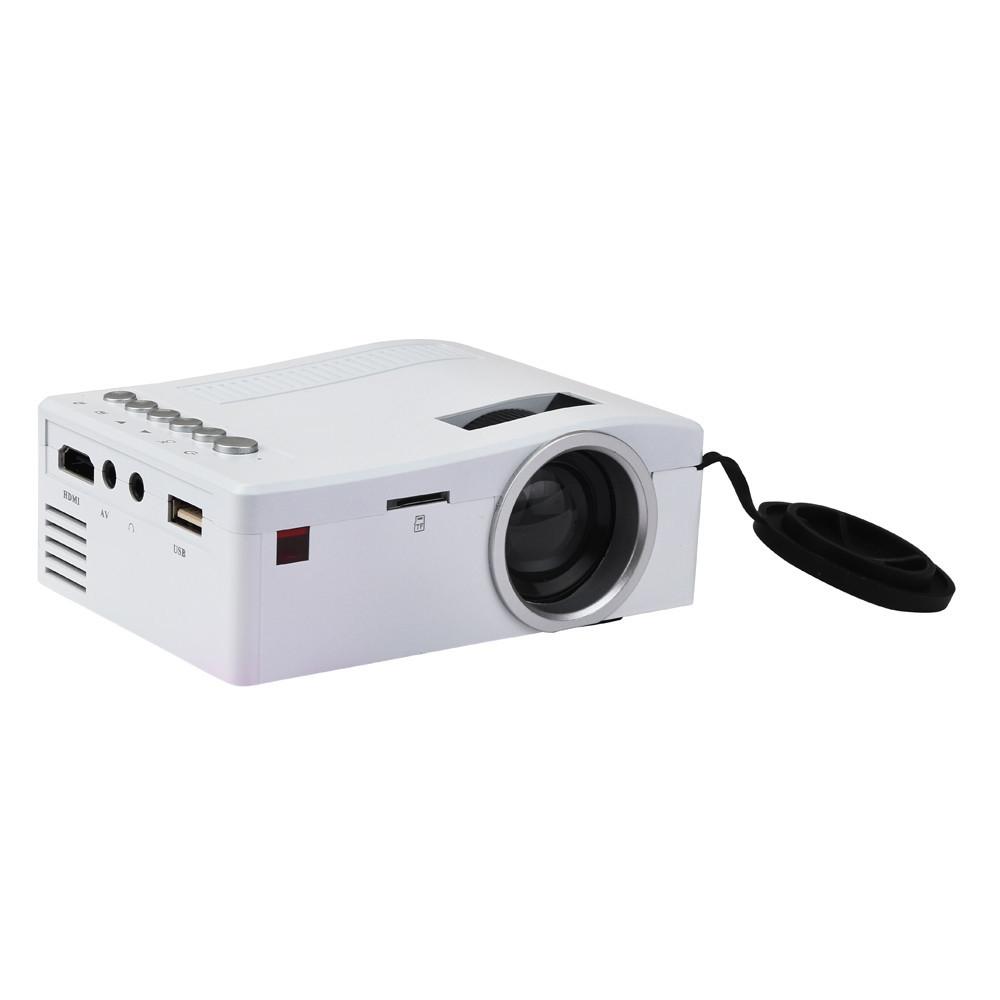 1080p Hd Mini Projector Led Home Cinema Theater Multimedia: Generic 1080P HD LED Home MulitMedia Theater Cinema USB TV