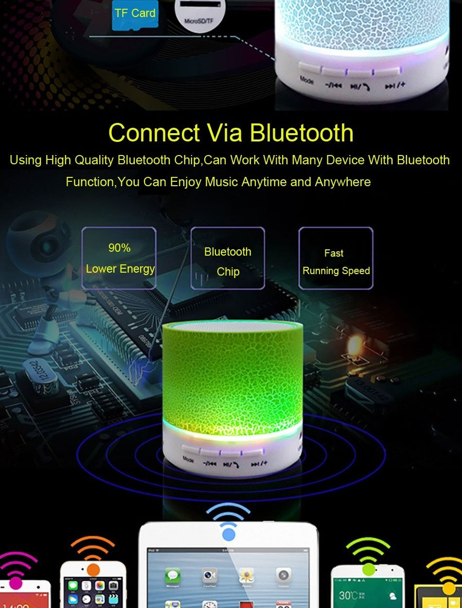 A9 bluetooth speakers