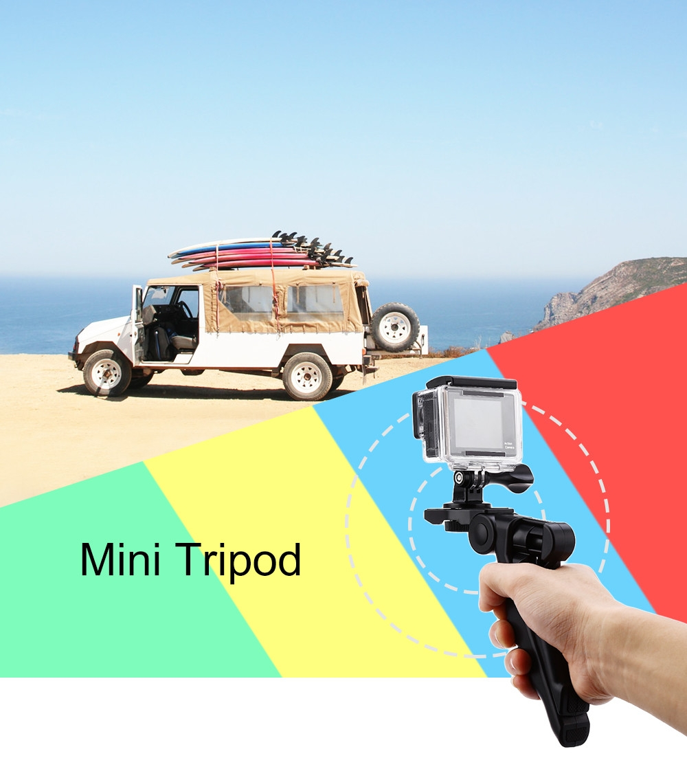 6.3 inch Tipod Rotation Desktop Handle Stabilizer for Phone Action Camera