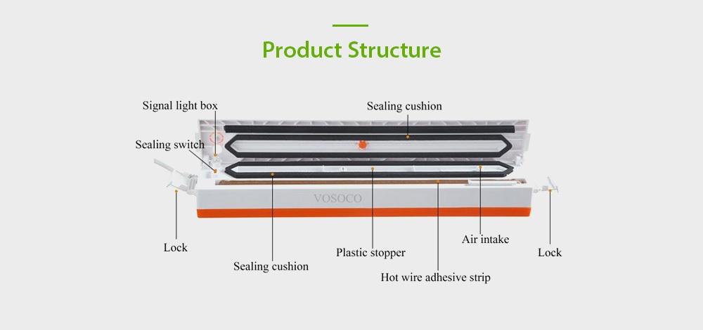 Domestic Automatic Vacuum Sealing Machine