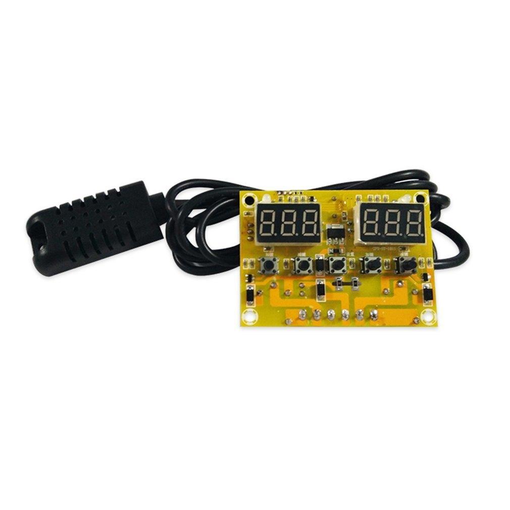 Generic TA Smart Digital Temperature & Humidity Controller Constant Temperature Control  black & Yellow price in nigeria