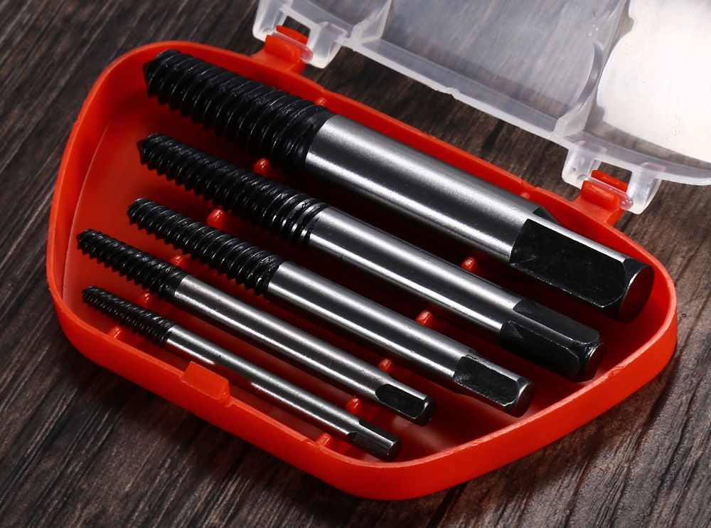 5PCS 3mm-19mm Screw Extractor Set Small Tool