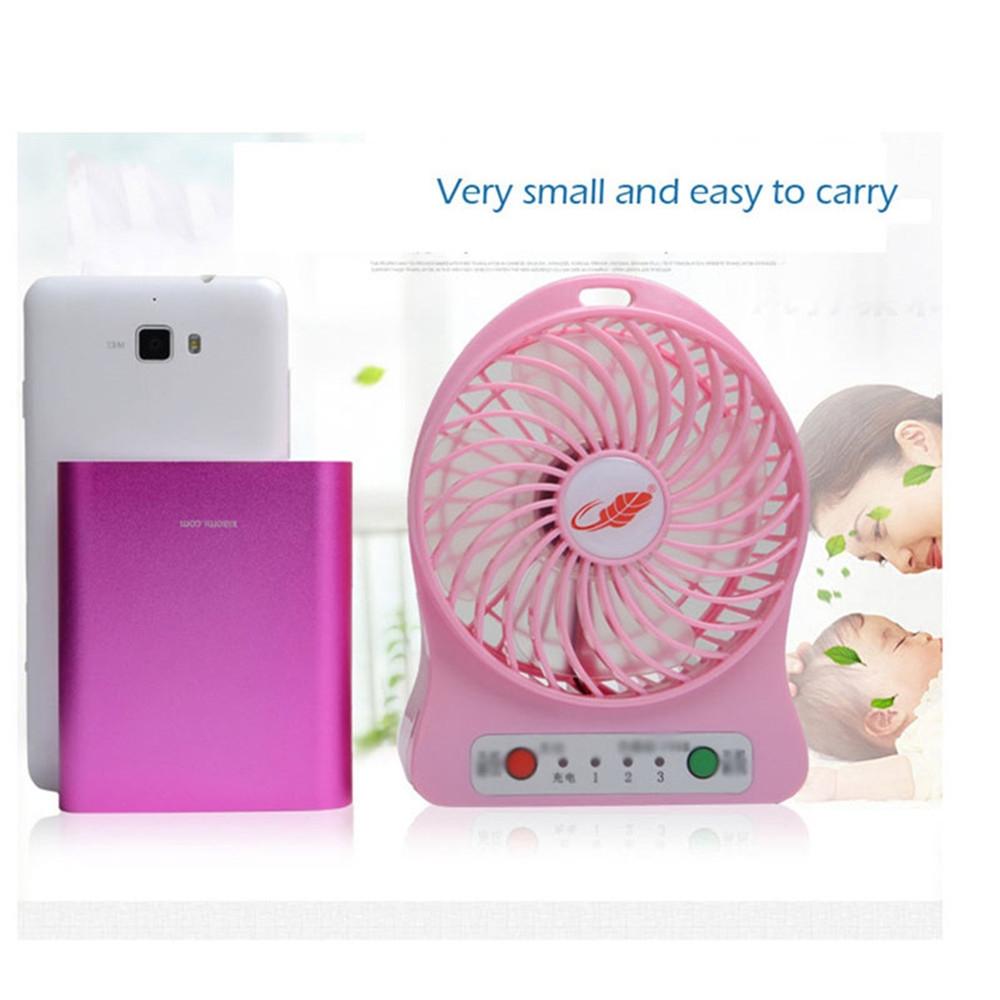 Portable Fan Mini USB Rechargeable