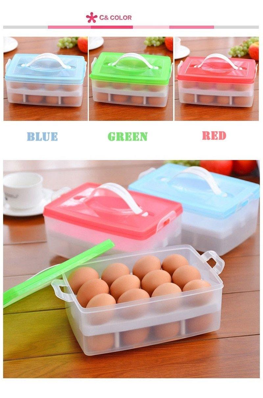 Egg storage box (16)