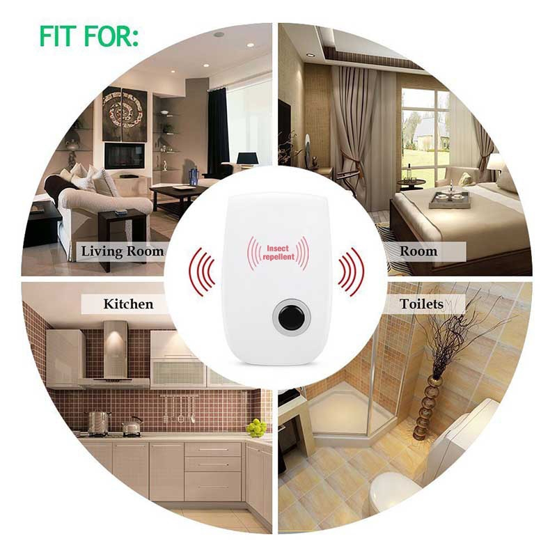 Electronic Ultrasonic Mosquito Killer USEU plug Reject Bug Mosquito Cockroach Mouse Pest Reject Magnetic Killer Repeller outdoor indoor (17)