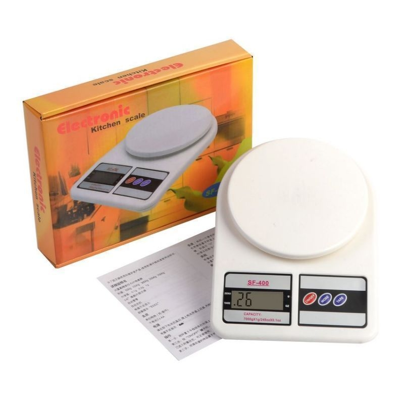 Buy Electronic Portable Digital Kitchen / Weighing Scale Upto 7Kg online