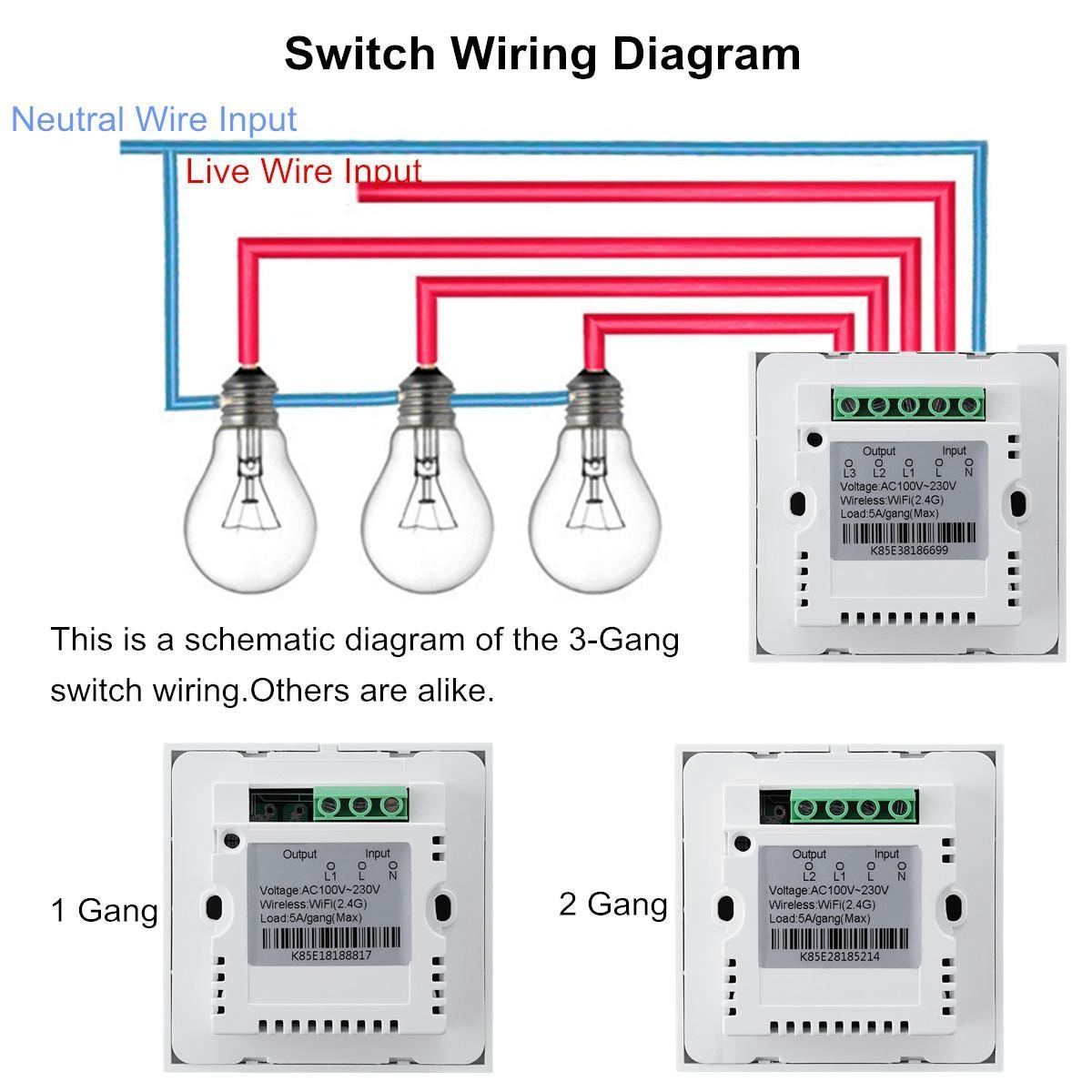 Switch Wiring Diagram How To Wire A Light Switch Wiring Diagram 2 Gang