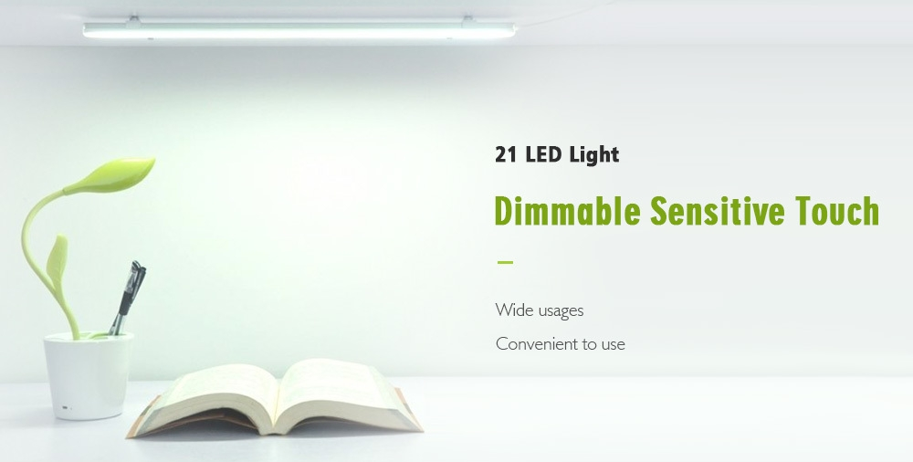 BRELONG 21 LED Dimmable Touch Sensitive Cabinet Light