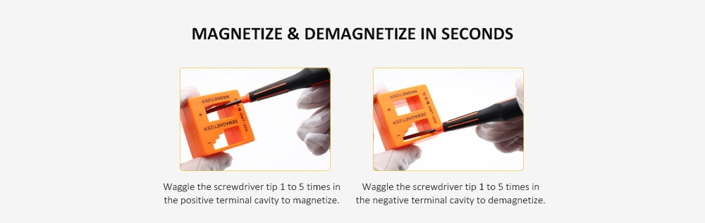 Precision Magnetizer / Demagnetizer for Screwdriver