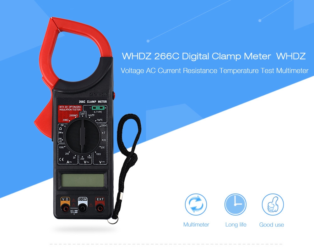 Digital Clamp Meters Cm 03 : Generic c digital clamp meter multimeter ac dc test