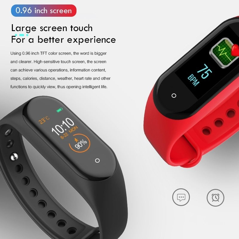M4-Smart-Band-Wristband-Heart-rate-Blood-Pressure-Heart-Rate-Monitor-Pedometer-Sports-Bracelet-PK-M3 (4)