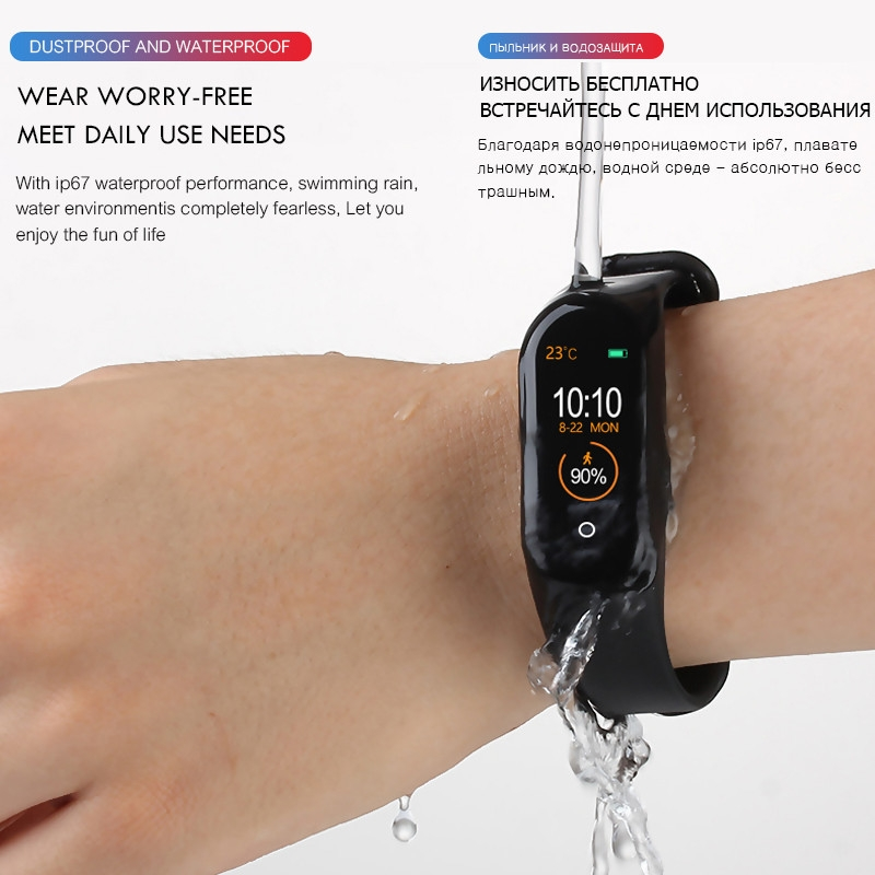 M4-Smart-Band-Wristband-Heart-rate-Blood-Pressure-Heart-Rate-Monitor-Pedometer-Sports-Bracelet-PK-M3 (5)