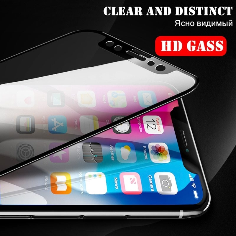 AOXIN-Screen-Protector-For-iPhone-X-Tempered-Glass-On-The-For-Apple-iPhone-X-10-Screen (1)