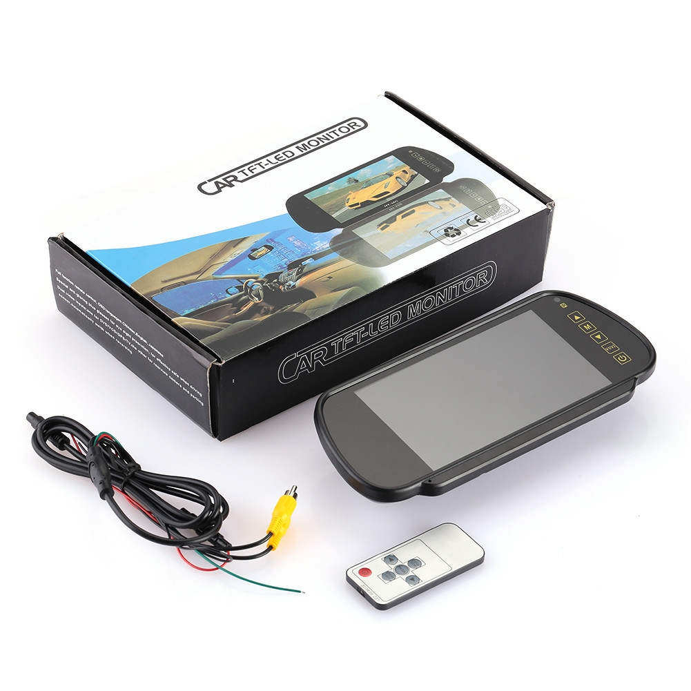 Generic Car Monitor Car Rear View Mirror Monitor Premium