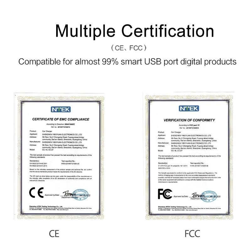 multiple certification