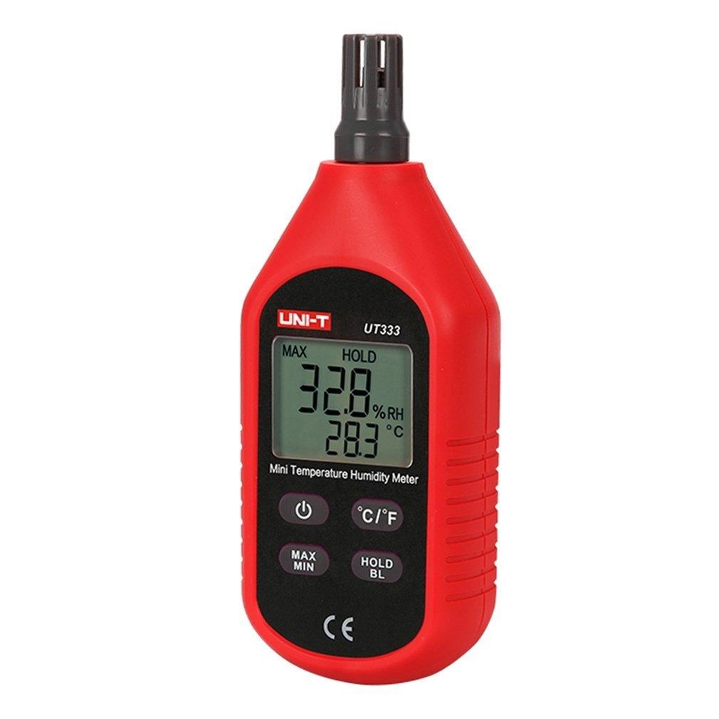 Generic TA UT333 Handheld Digital Thermometer Hygrometer Temperature Humidity Meter*Red&Black price in nigeria