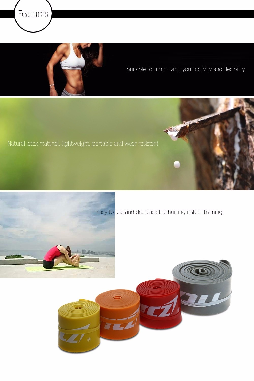 TTCZ Latex Elastic Yoga Fitness Resistance Bands