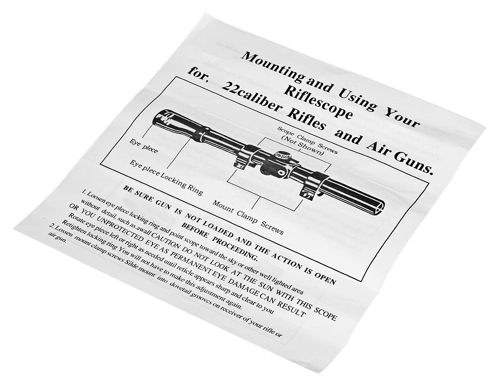 Air Rifle Telescopic Sight Hunting Sniper Scope