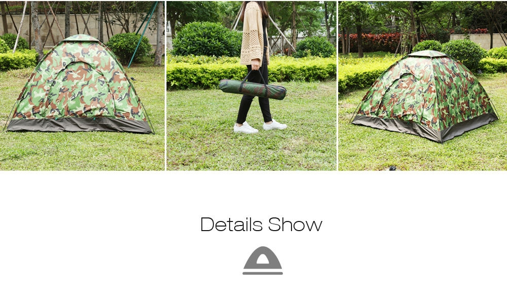 Generic outdoor fishing camping one layer camouflage tent for Outdoor fishing