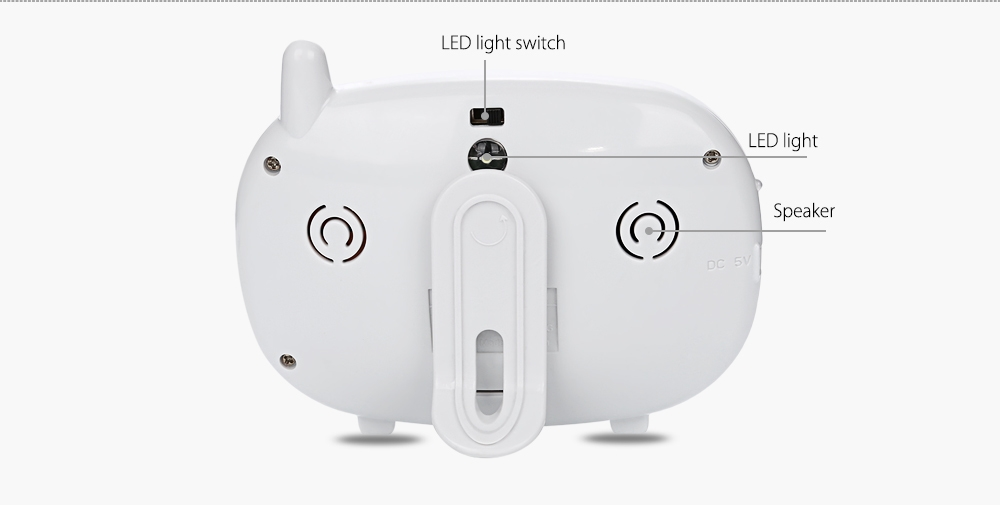 3.5 inch 2.4GHz Wireless TFT LCD Video Baby Monitor with Night Vision