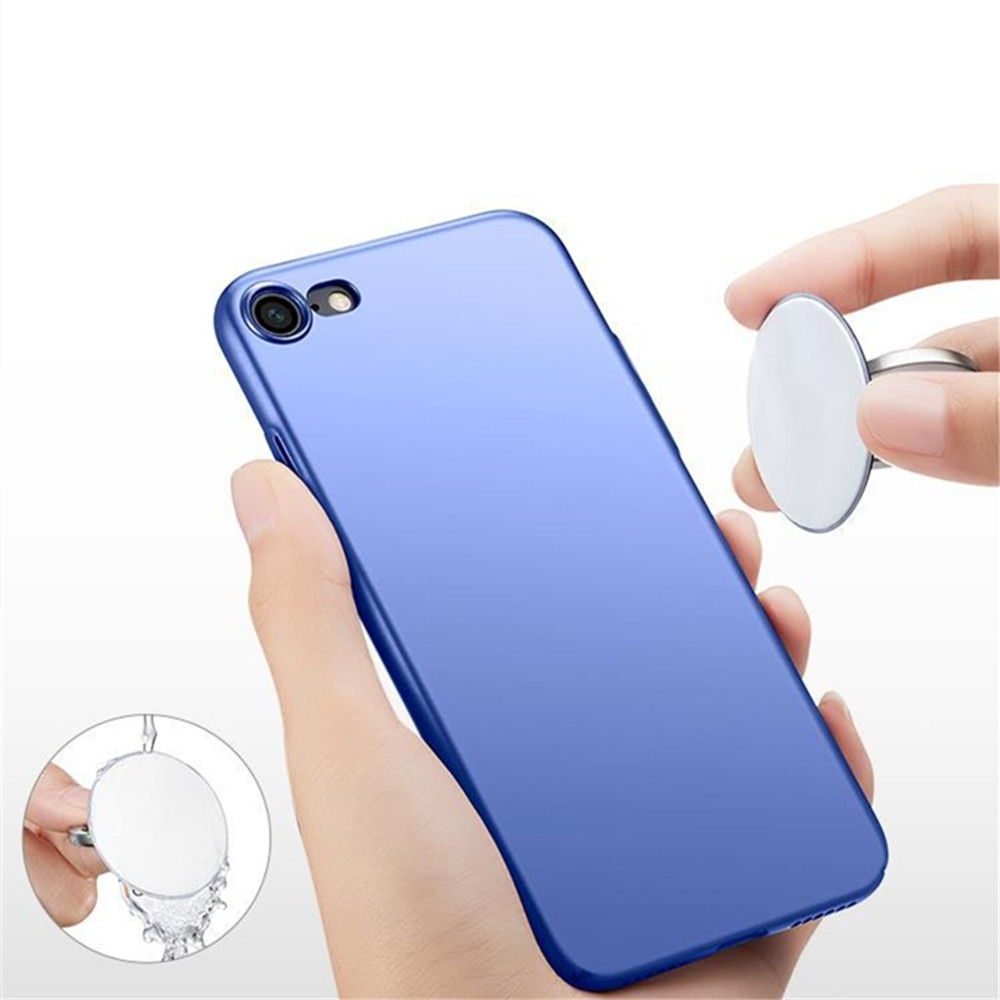 360 Degree Round Finger Ring Mobile Phone Smartphone Stand Holder