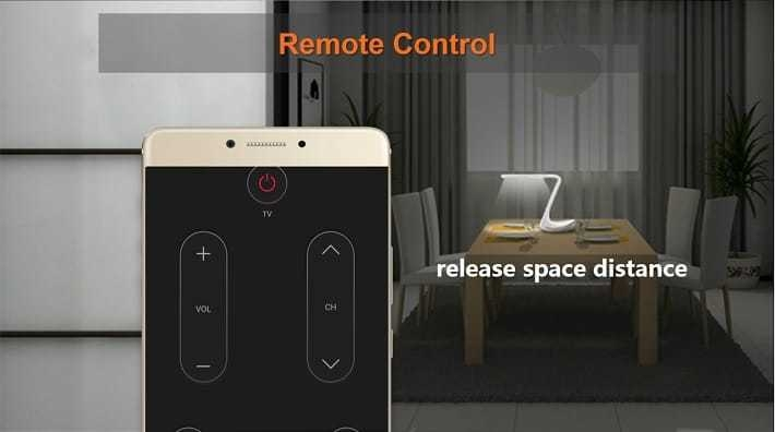 Gionee M6 on Jumia remote control