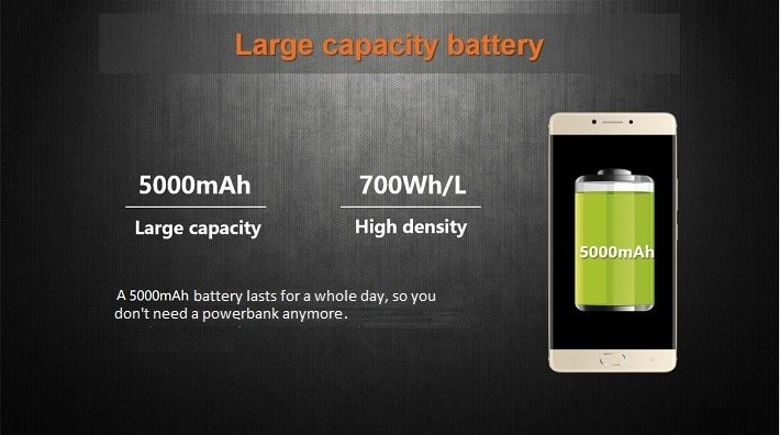 Gionee M6 on Jumia/5000mAh battery