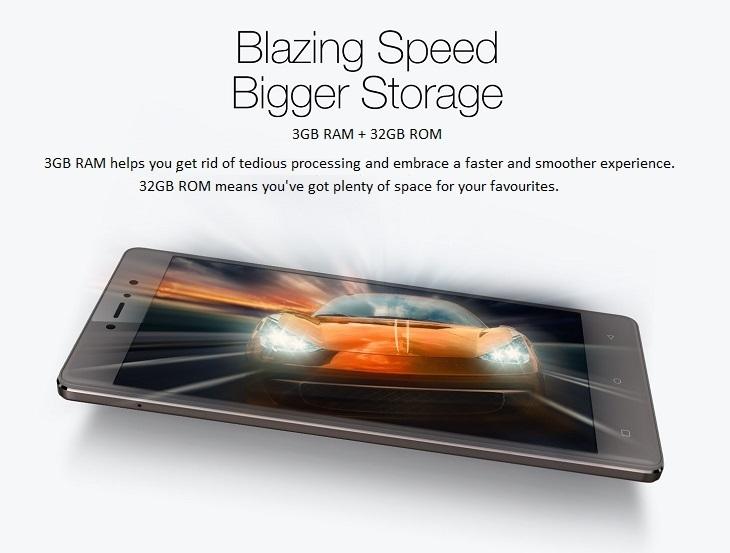 Gionee S6s 3GB/32GB memory