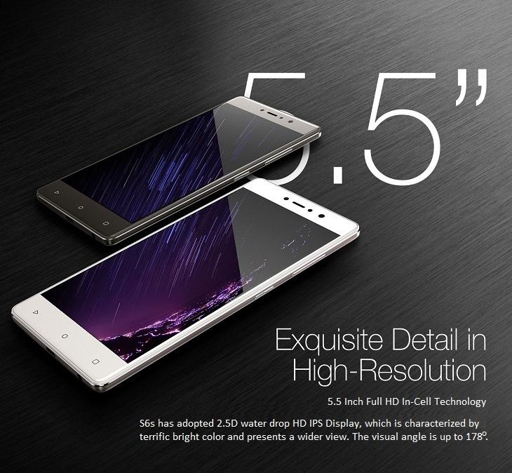 Gionee S6s 5.5 inch HD