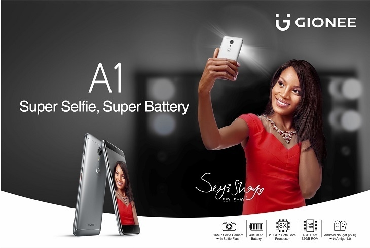 Gionee A1 on Jumia