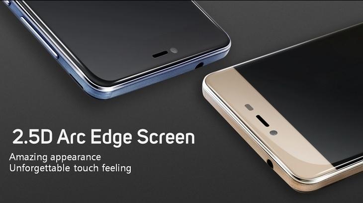 Gionee Marathon M5 Mini 2.5D Arc Edge Screen
