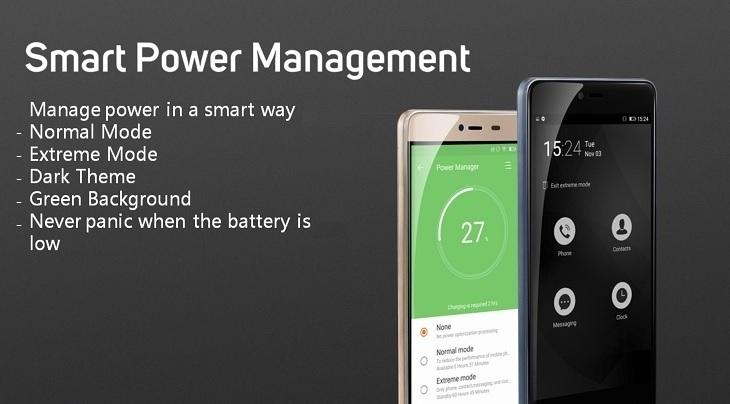 Gionee Marathon M5 Mini smart power