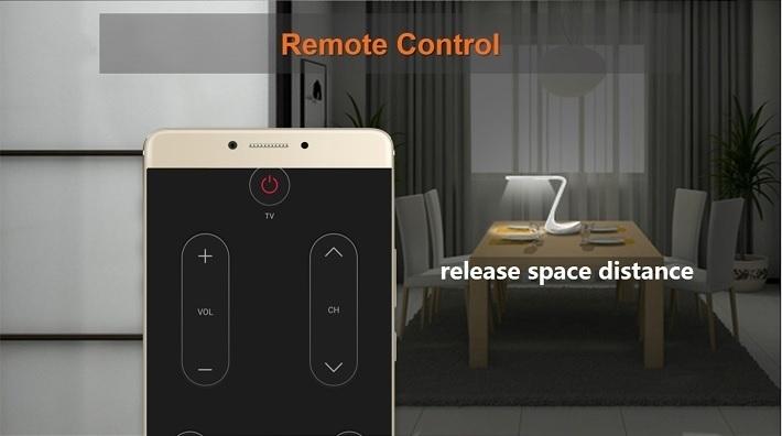 Gionee M6 on Jumia remote control