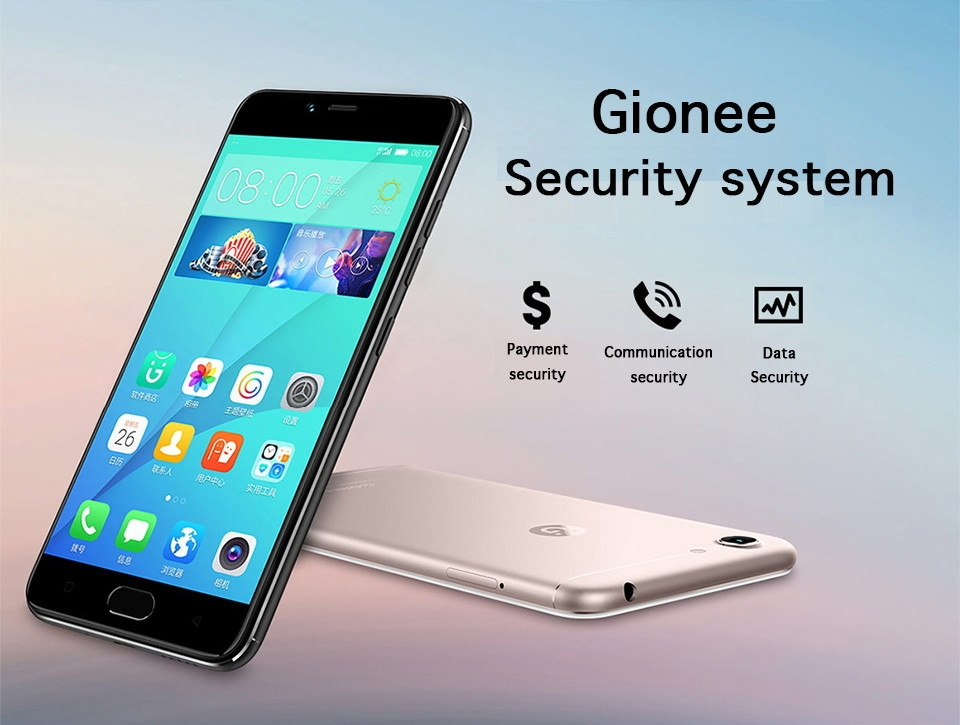 Gionee S10C 5 2'' 3100mAh 4GB RAM 32GB ROM Mobile Phone 16 0MP+13 0MP  Fingerprint ID Android Cell Phone
