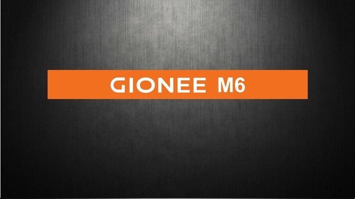 Gionee M6 on Jumia