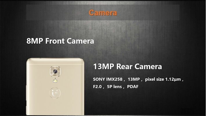 Gionee M6 on Jumia - 13MP/8MP cameras