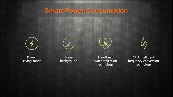 Gionee M6 on Jumia/ smart power consumption