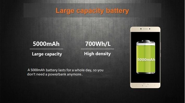 Gionee M6 on Jumia/5000mAh battery