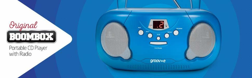 portable boombox cd player