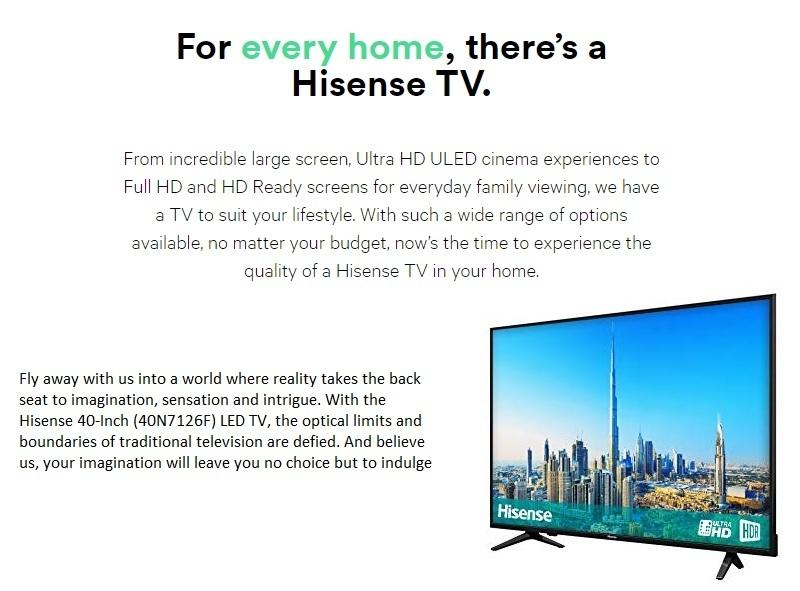 Hisense 40-Inch LED TV 40N2176 | Jumia com ng