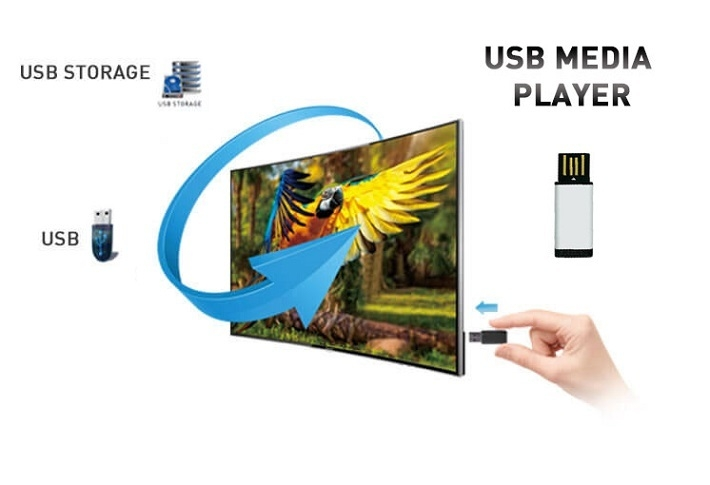 32-Inch HD LED Television With USB Video HX32M2160H- Black